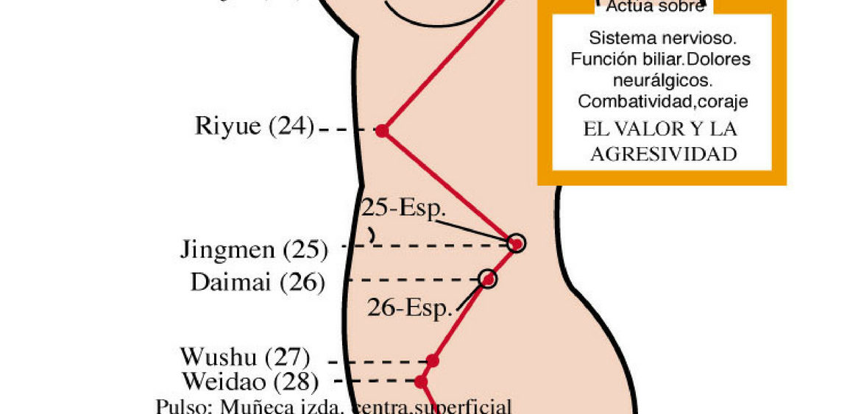 puntos de impotencia de acupuntura